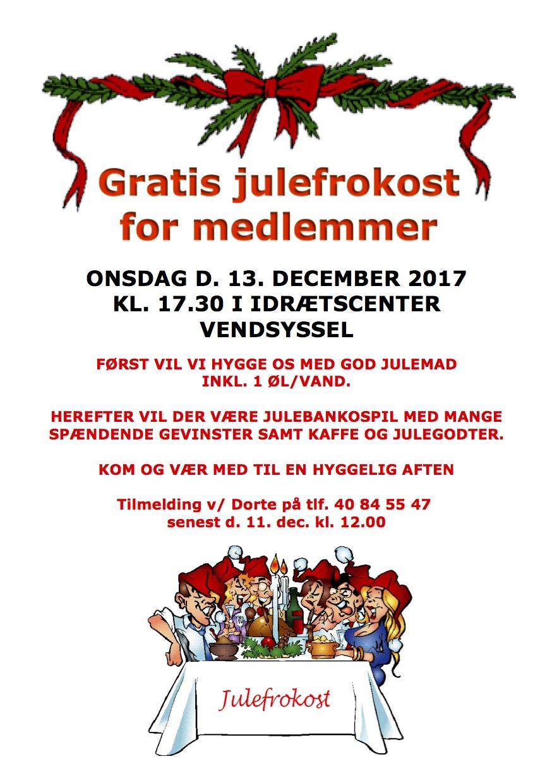 Tekst invitation til julefrokost Invitation til