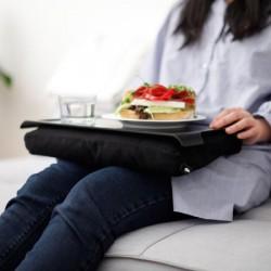 Mini lap-tray – praktisk knæpude med skridsikker bakke