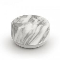 Sæbedispenser marmor/skridsikker silikone – enhånds-betjent