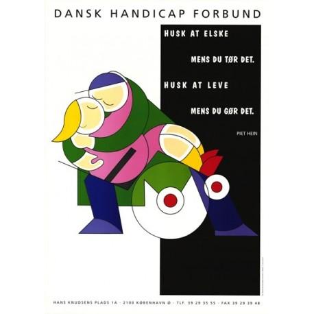 Piet Hein postkort blandede