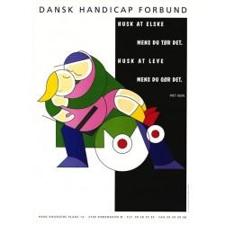 Piet Hein postkort: Husk at elske