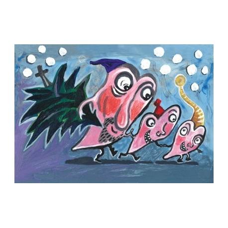"""Sæt I: """"Juletræsturen"""" af Lise Arildskov de Marco"""